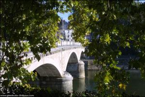 Pont de la république Besançon (Doubs)
