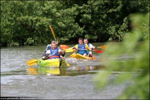 Canoé-Kayak sur l'Ognon Bonnal