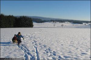 Promenade hivernal à Métabief