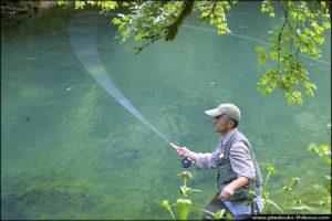 Pêche à la truite - Vallée du Cusancin (Doubs)
