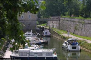 Pont fluvial - Besançon