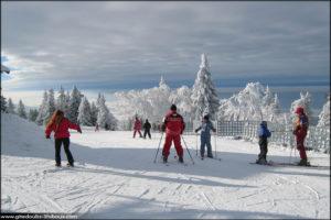 Ski alpin à Métabief Doubs-Jura